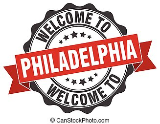 Philadelphia round ribbon seal