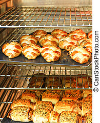 typical Turkish owen product pastry pogaca
