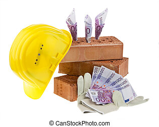 Construction, financing, building societies. Brick and ? -...