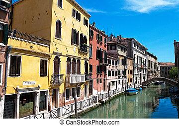 Italy, Venice. - The beautiful city of Venice in Italy.