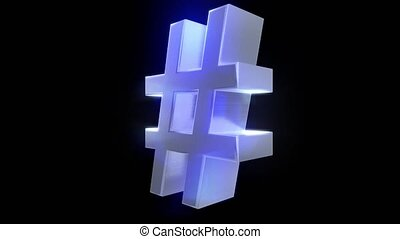 Hash tag hashtag rotate tweet twitter social media network...