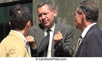Business Men Disagreement