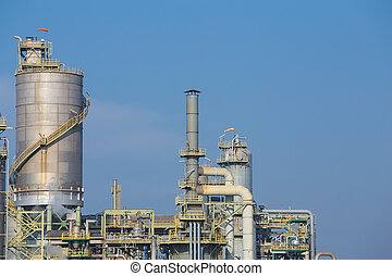 chemical industry plant, Thailand - chemical industry plant,...