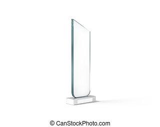 Glas leer clipart  Clipart von namensschild, glas, mockup, übertragung, design, leer ...
