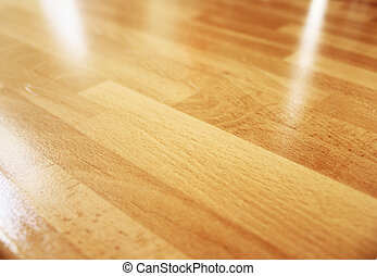 wood - Wooden parquet texture of a room