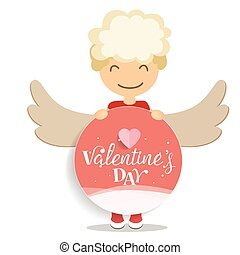 Valentines day background design. illustration