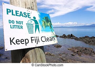 custodire, Figi, pulito, segno