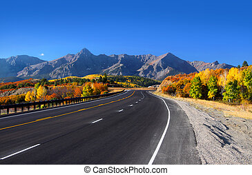 Scenic drive San Juan mountains - Scenic drive near Dallas...