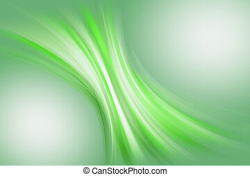 Abstract background of green