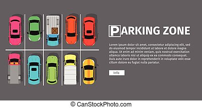 Parking Zone Top View