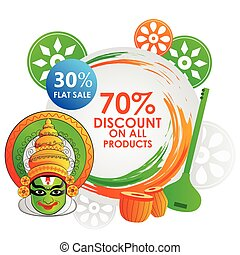 Sale Promotion and Advertisement for Republic Day of India -...