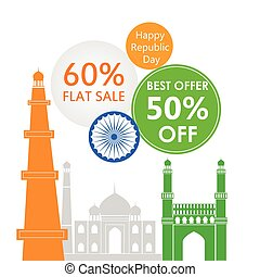 Sale Promotion and Advertisement for Republic Day of India