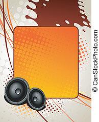 speaker music art
