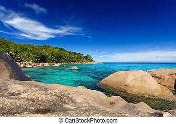 Anze Lazio Beach - Beautiful view of Anze Lazio beach in...
