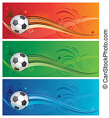 soccer background - soccer design elements