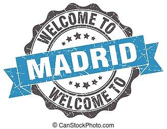 Madrid round ribbon seal