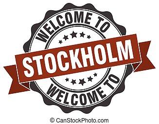 Stockholm round ribbon seal