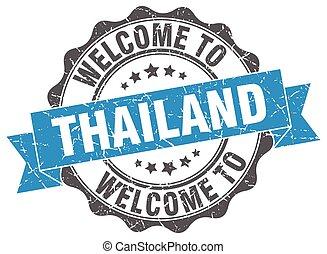 Thailand round ribbon seal