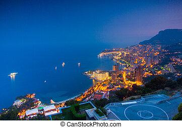 Monte Carlo, Monaco, French Riviera - High resolution view...