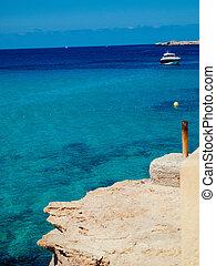 Beach of Cala Conta, Ibiza, Spain