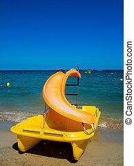 Yellow pedalo, Ibiza
