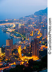 Monte Carlo, Monaco, French Riviera - High resolution view...