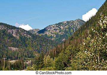 Peaks of the Cascade mountain range - Mountains of the...