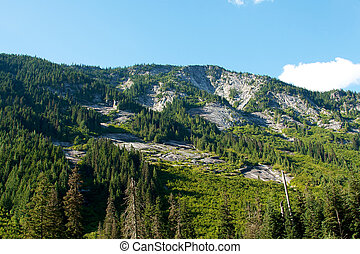 Foot hills of the Cascade Mountain range - One of the foot...