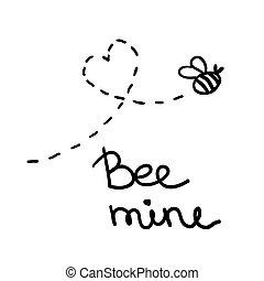 Valentine's day lettering - Handwritten Valentine's day...