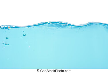 Water level isolated on white background