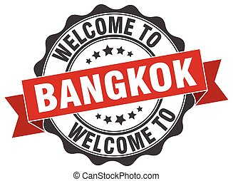 Bangkok round ribbon seal