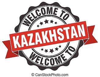 Kazakhstan round ribbon seal