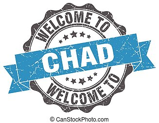 Chad round ribbon seal