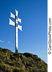 Double cross - Hill with double cross as a symbol of Central...