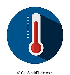 thermometer temperature measure icon vector illustration...