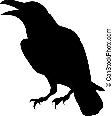 Raven vector - Bird vector To see similar, please VISIT MY...