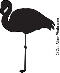 Flamingo vector - Bird vector To see similar, please VISIT...