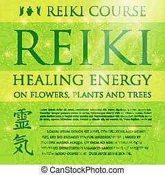 Sacred geometry. Reiki symbol. The word Reiki is made up of...