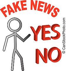 Fake news decided