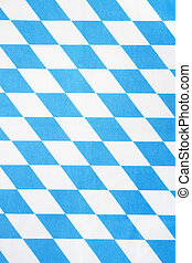 blue and white bavarian rhombus textile texture or...