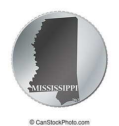 Mississippi State Coin