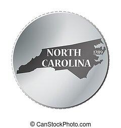 North Carolina State Coin