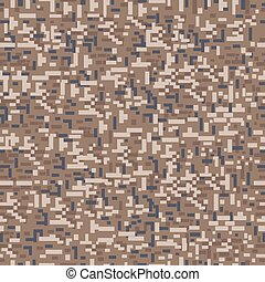 Military camouflage seamless pattern. Vector and...