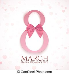 March 8 greeting card template. - March 8 greeting card...