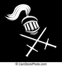 guerreira, Símbolo,  medieval