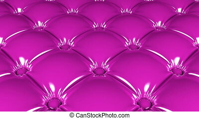 Pink latex pattern 3D animation - 3D animated looping pan...