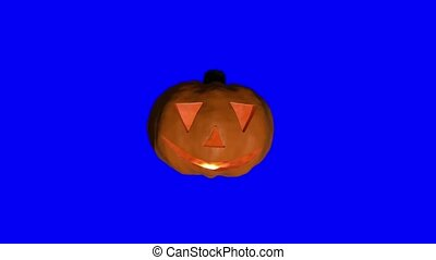 Pumpkin halloween spooky trick or treat face carved haloween...