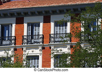 Apartment building in Madrid
