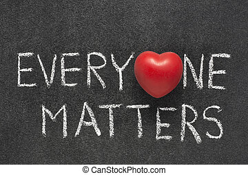 everyone matters heart