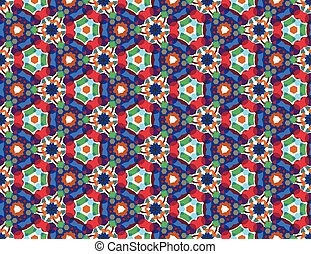 Color kaleidoscope background